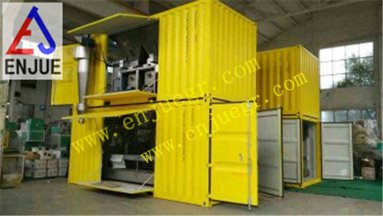 Containerized Movable Grain Weiging and Packing Machine Bagging Unit pictures & photos