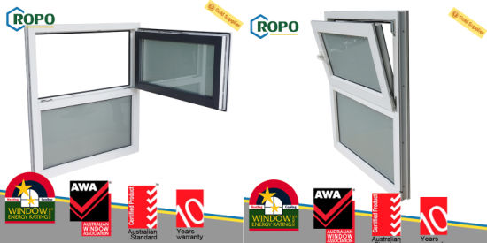 Pvc Sound Insulation Residential Window High Energy Efficient Tilt Turn Windows