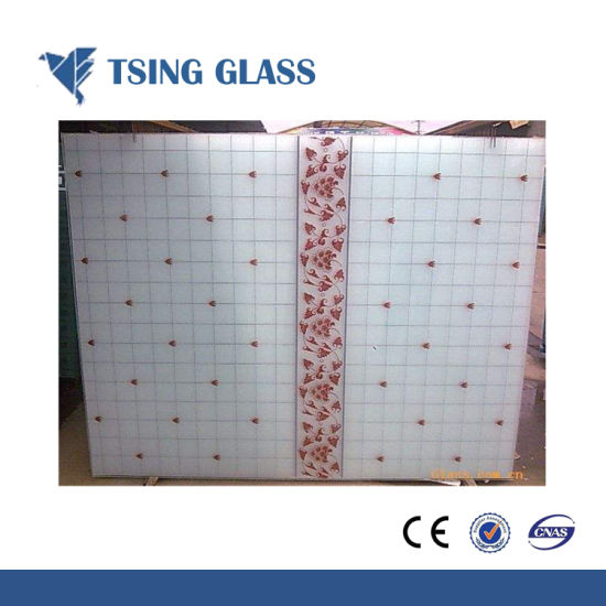 Silk-Screen Printing Glass for Furniture/Door/Shower Room/Home Appliance pictures & photos