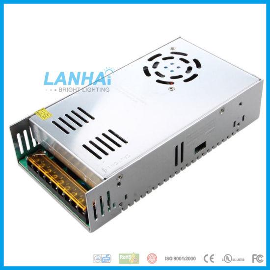 China 12V 400W 33A LED Driver 110V/220V AC/DC Adaptor