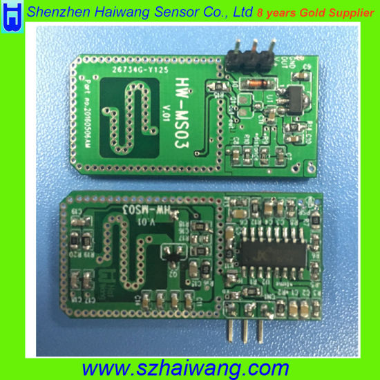 3.7V~24VDC Microwave Detector for Light Switch pictures & photos