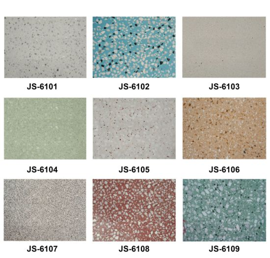 Lower Price Terrazzo With Cobble Stone Flooring Tiles