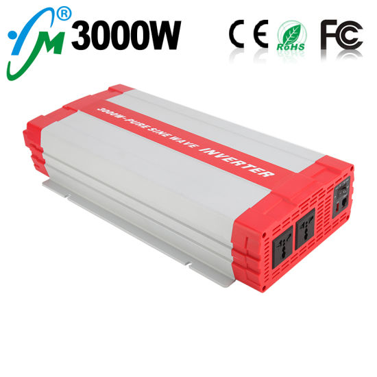 3000W Pure Sine Wave DC to AC Solar Power Inverter pictures & photos