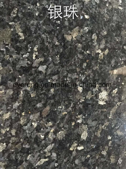 High Polished & Grade a Silver Pearl Granite with Economic Price pictures & photos