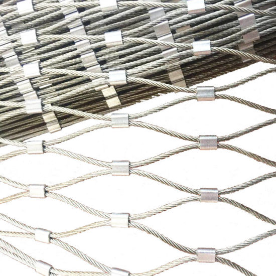 High Strength Wire Rope Stainless Steel Decorative Rope Mesh for Green Wall