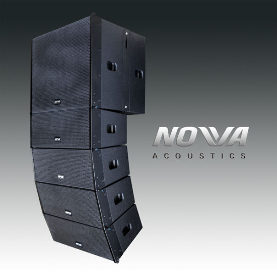 """High Power Compact Double 8"""" Professional Line Array (Smart 8)"""