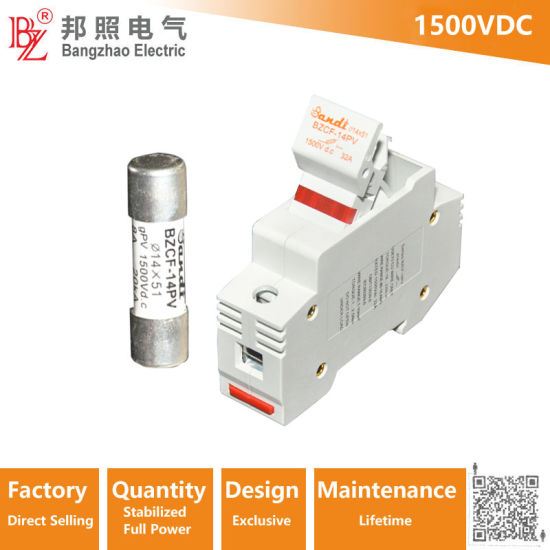 1500VDC Fuse Holder- DC Fuse Block for PV Combiner Box Parts on