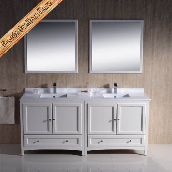 china fed 1073c big size double rectangle cupc sinks matt white rh cnwino en made in china com solid wood bathroom vanities sale solid wood bathroom vanity unit uk