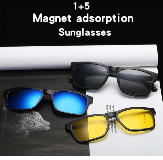 dd1882048a China 2018 Custom Oval Multi-Color Tortoiseshell Glasses Ultem Magnetic  Polarized Clip on Sunglasses Photos   Pictures - Made-in-china.com