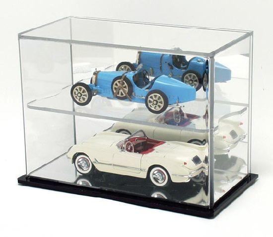 475ac9a7 Wall Mounted 1: 24 Scale Clear Plexiglass Acrylic Diecast Model Car Display  Case / Box