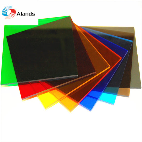 China Transparent Colors Acrylic Plexiglass Plastic Sheets China
