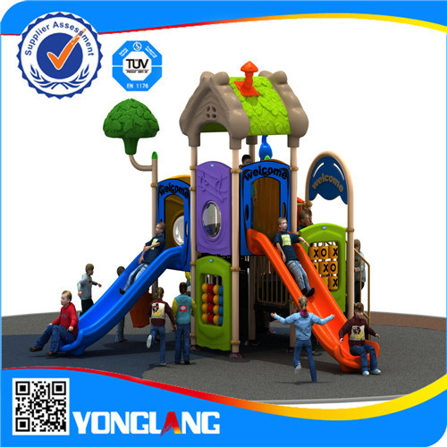 Children Mini Plastic Outdoor Playground (YL-E040) pictures & photos