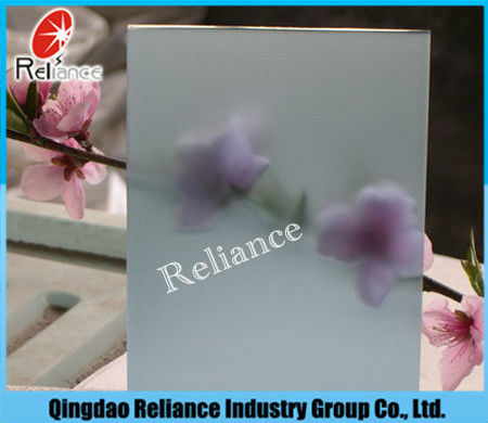 Clear Float & Ultra Clear Float Acid Etched Glass/Frosted Glass pictures & photos
