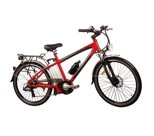 Light Weight Aluminium Alloy Lithium Mounthium Battery E-Bike (TDE-015)