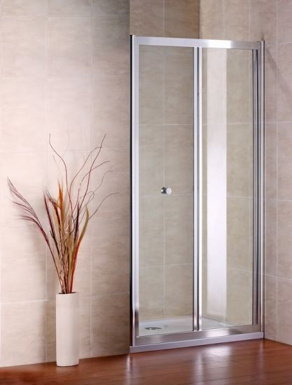 Bi-Fold Shower Door Enclosure Bath Screen Bathroom Furniture pictures & photos