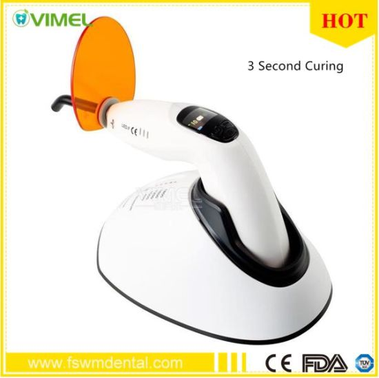 Dental Equipment Woodpecker LED Curing Light LED-F 3second Curing pictures & photos