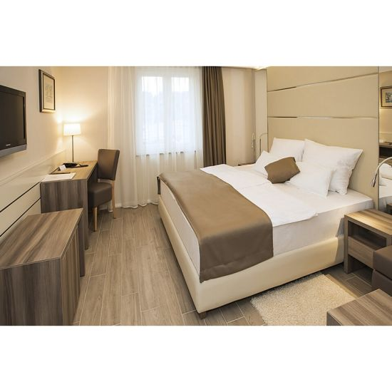 Latest Classica Modern Wood Double Queen Bed Designs Hotel Bedroom  Furniture Sets For 3 Star Hotel