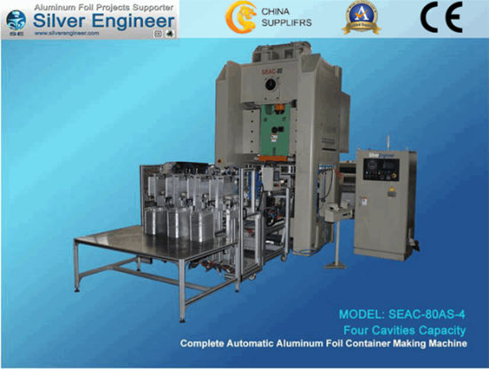 Real Chinese Automatic Aluminum Foil Container Making Machine pictures & photos