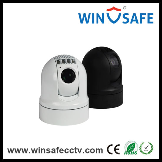 HD Vehicle Weather-Proof Security IR PTZ Dome Camera