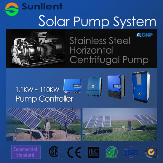 Stainless Steel Horizontal Centrifugal Pump Solar Water Pump System