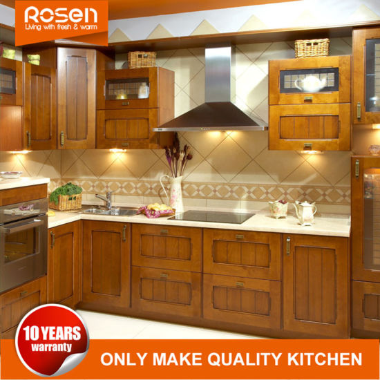 Rosewood America Style Kitchen Cabinets Furniture Online For Sale