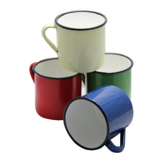 Personalized Making 6 7 8 9 10 11 12mm Enamel Tea Coffee Mug Cup