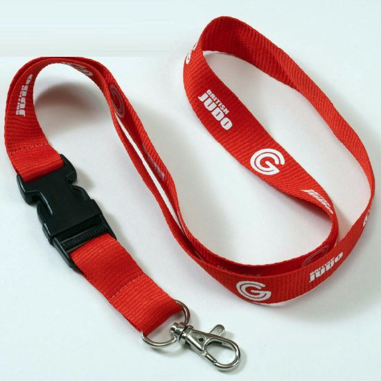 ID Card Holder Lanyard with Jacquard Weave Logo, Logo Lanyard, Neck Strap, Neck Lanyard pictures & photos
