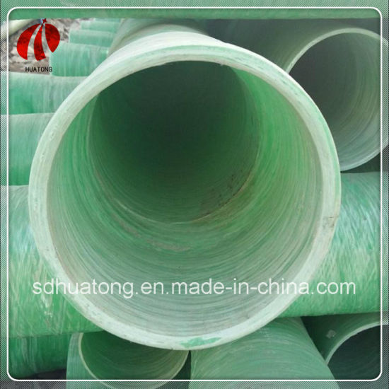 Supply High Quality Building Material FRP/GRP Protective Cable Pipe