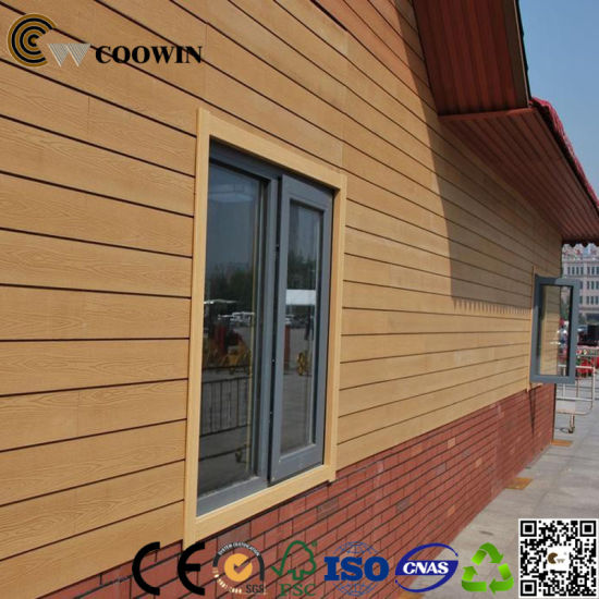 Anti-UV Decorative WPC Wall Panel for Exterior Wall Cladding pictures & photos