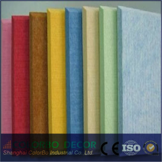 China Supplier Polyester Fiber Acoustic Wall Panel