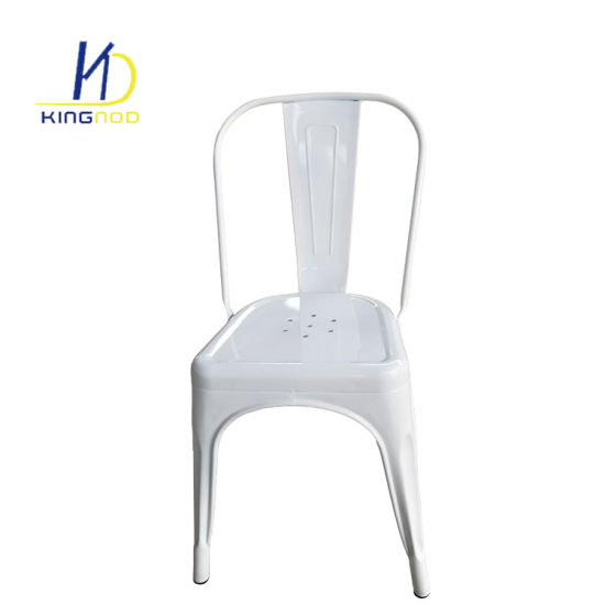 Cheap Industrial Cafeteria Tolix Replica Stackable Vintage Outdoor Metal Dining Chair  sc 1 st  Tianjin Kingnod Furniture Co. Ltd. & China Cheap Industrial Cafeteria Tolix Replica Stackable Vintage ...