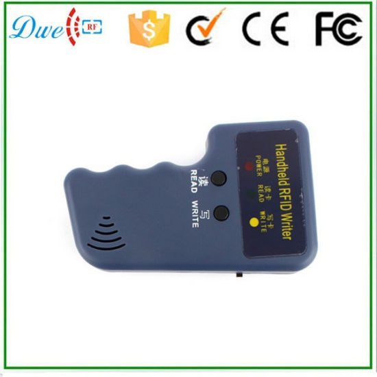 China RFID Handheld 125kHz Em4100 ID Card Copier Writer