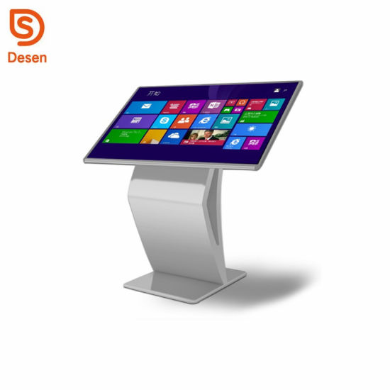 China 40 Inch PC Windows Totem Touch Screen Kiosk with