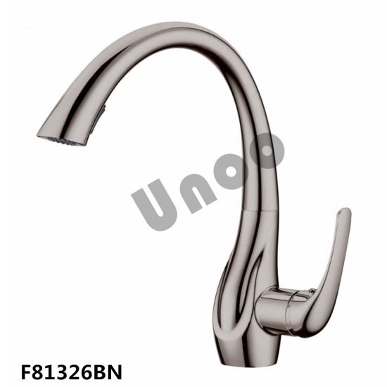 Unoo Top Selling Pull Down Kitchen Faucet with Water Save Aerator (F81326) pictures & photos