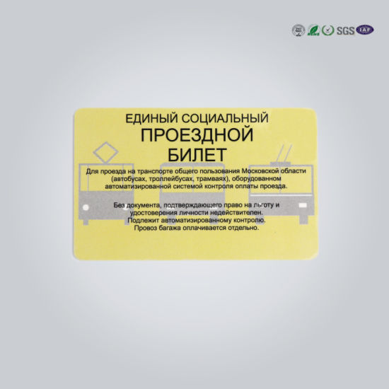 Popular Magnetic Stripe Customized Smart PVC Card pictures & photos
