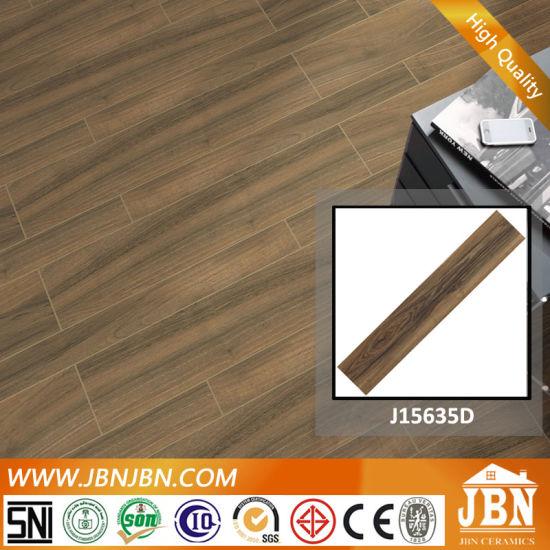 Competitive Price Inkjet Glazed Ceramic Wooden Ceramic Tile (J15635D)