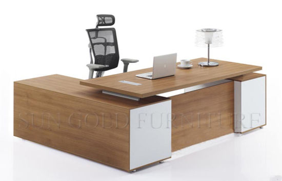 Wooden Executive Office Table Design, Pictures of Wooden Computer Table (SZ-ODB301) pictures & photos