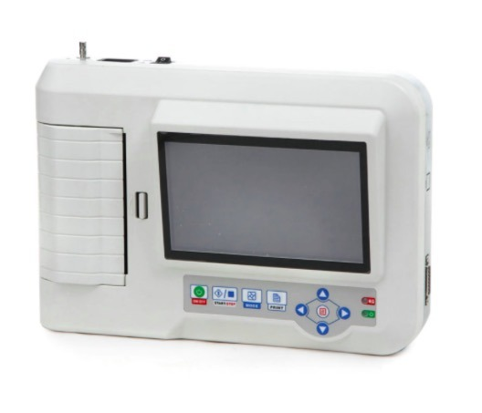Digital 6-Channel Touch Screen Color Electrocardiograph ECG EKG Machine pictures & photos