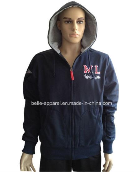 Custom Zipper Fleece Good Quality Hoodie Jacket