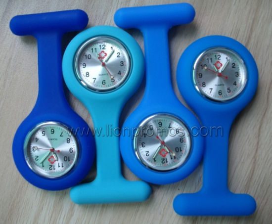 Hospital Medical Service Promotional Gift Silicone Nurse Watch
