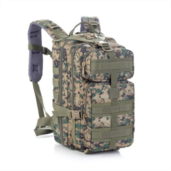 Cheap Mountain Outdoor Camping Molle Camo Assault Military Tactical Backpack