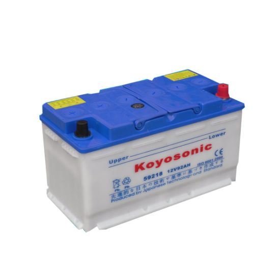 High Performance 12V 92ah Lead Acid Car Battery Dry Charged Battery