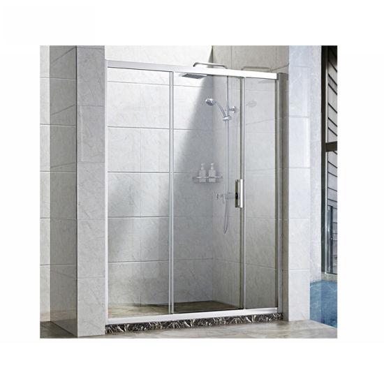 Custom Bathroom Tempered Fiberglass, Fiberglass Shower Stall With Glass Door