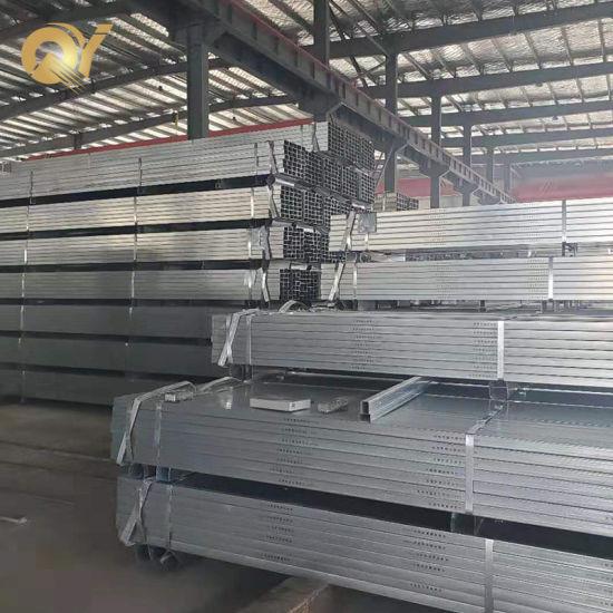 Galvanised Shs Rectangular Hollow Section Steel Gi Square Pipe