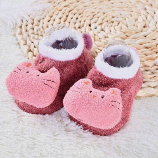 High Quality Cartoon Stuff Animal Baby Warm Shoes for Baby Gift
