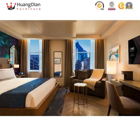 Foshan Hotel Furniture Supplier Modern Wooden Hotel Bedroom Furniture (HD2113)