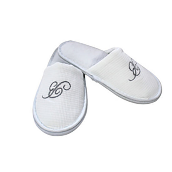 1df5ea422 New White SPA Shoes Travel Washable Luxury Hotel Guest Slippers for Hotel  Amenities