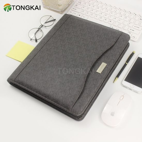 1fe36a8173c China PU Leather Black Waterproof Document Holder Sheet Protector ...