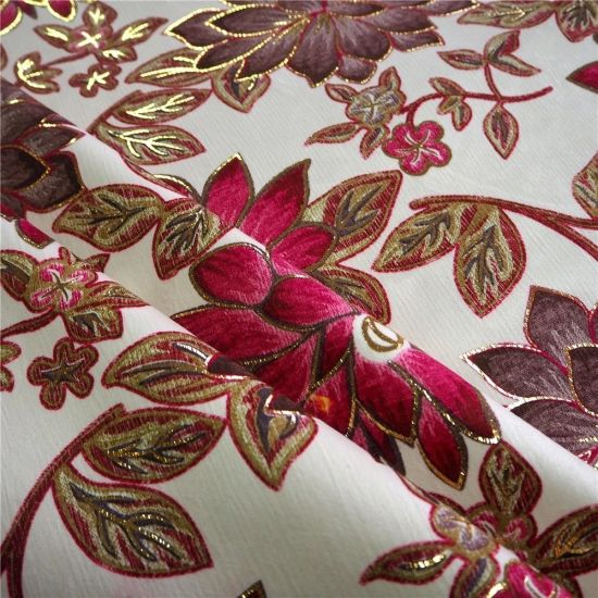Microfibre 100% Polyester Print Textile Sofa Cloth Fabric