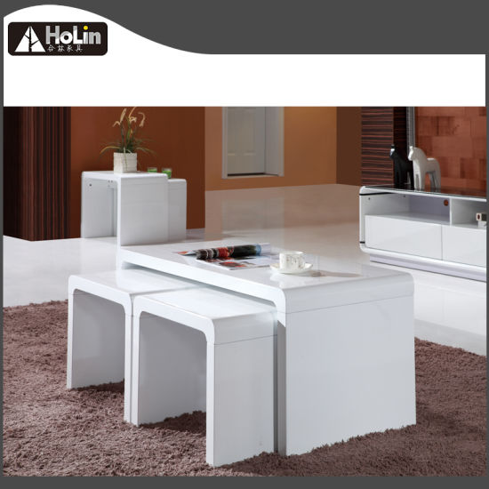 China Modern Design Living Room Furniture 3 Pieces In 1 Nesting